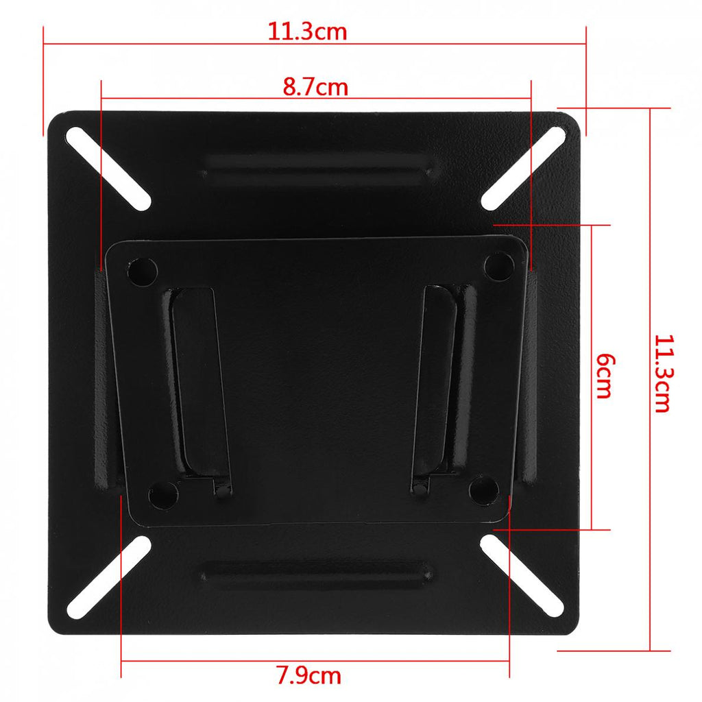 2018 Universal TV Wall Mount Mounts Bracket for 14 to 24 Inch LCD LED Monitor Flat Panel TV Frame