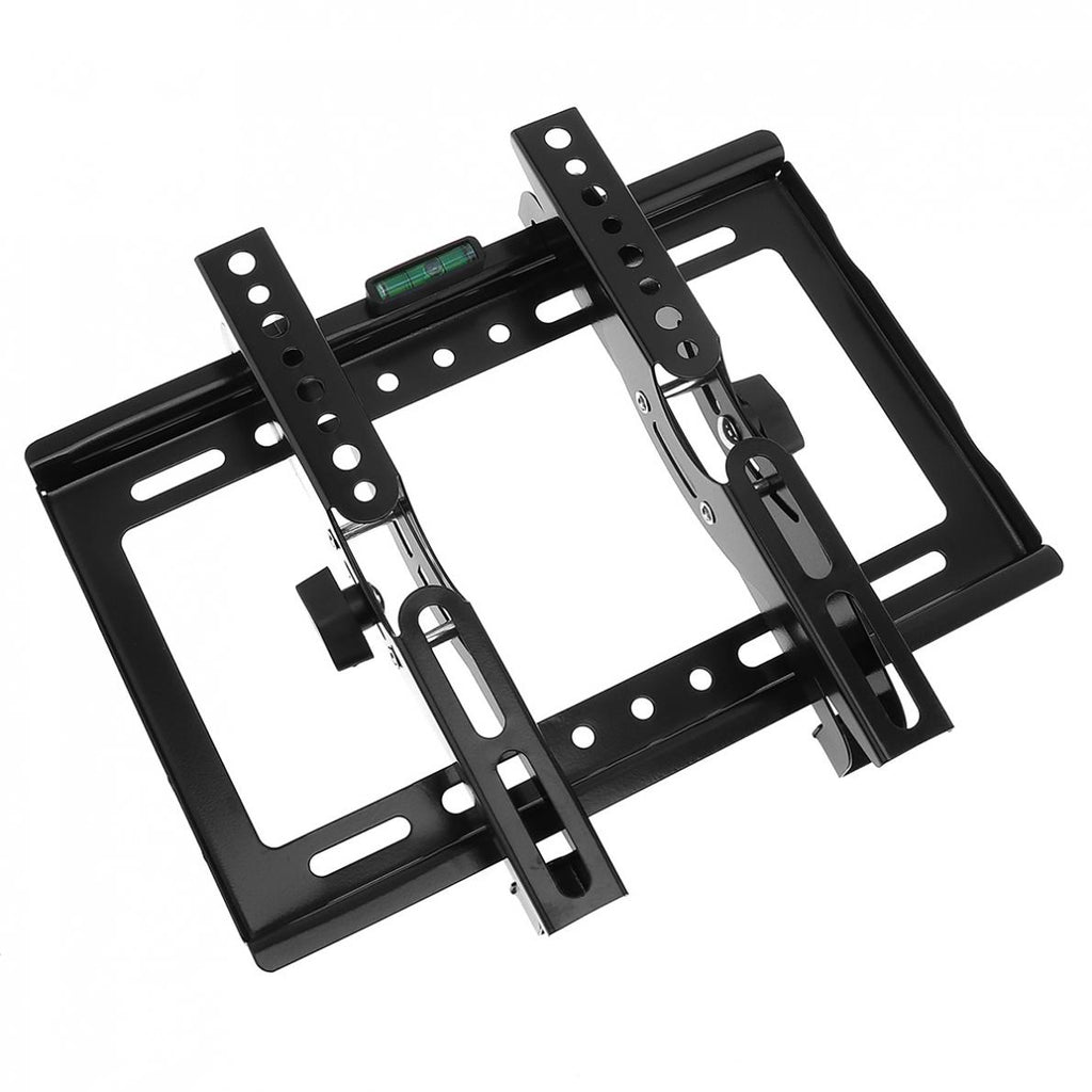 25KG Adjustable TV Wall Mounts Bracket Flat Panel TV Rack Frame Support 15 Degree Tilt Angle with