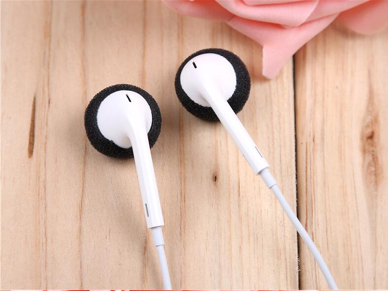 25pairs 50pcs 18mm Foam Earbud earphone earbuds Tips Headphone Ear pads cushion Replacement Sponge