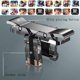 2PCS Gaming Trigger for Mobile Phone PUBG L1R1 Shooter Controller