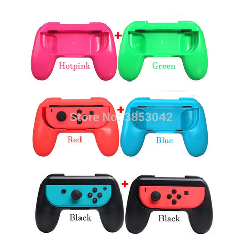 2pcs Joy-Con Steering Racing Wheels Holder Grips for Nintend Nitendo Switch NS Joycon Left Right