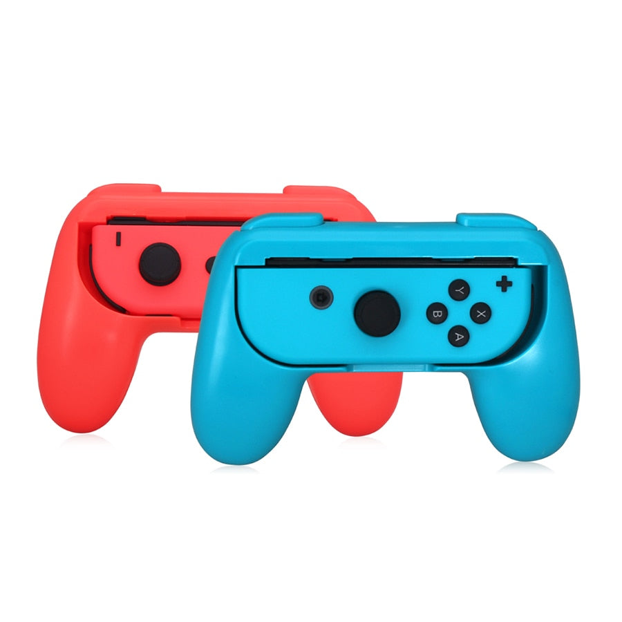 2pcs/set Nintend Switch ABS Gamepad Grip Handle Joypad Stand Holder for Nintendo Switch Left Right