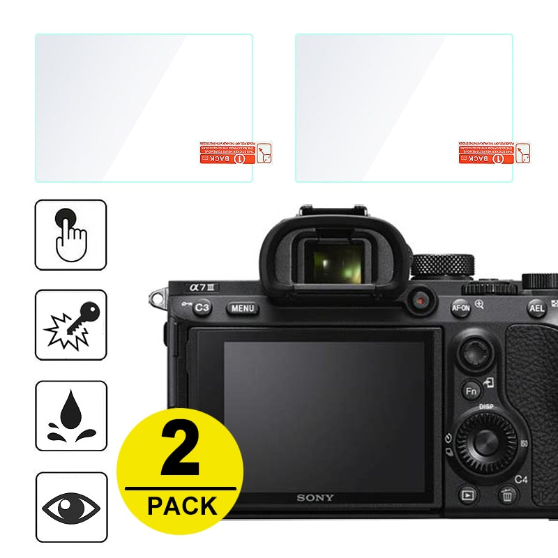 Tempered Glass Screen Protector for Sony Camera