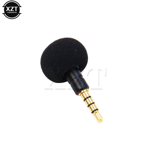 3.5mm Jack Mini Omni-Directional Mic Microphone Cellphone Smartphone for Recorder for iPad iPhone5