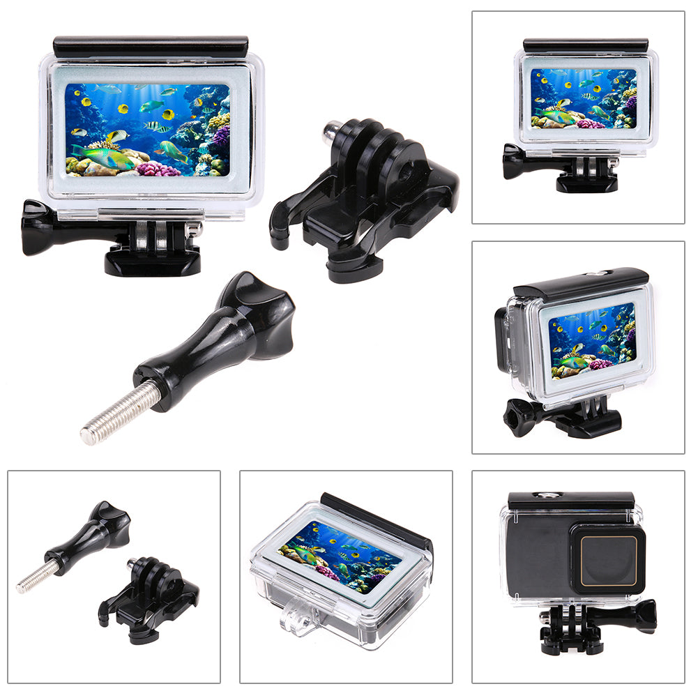 35m Diving Waterproof Touch Cover Case For Xiaomi Yi 4K 2 II Action Camera for Xiaomi Yi