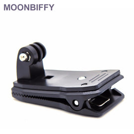 360 Degree Quick Release Rotary Backpack Hat Clip Fast Clamp Mount For GoPro Hero 2 3 3+ for Go