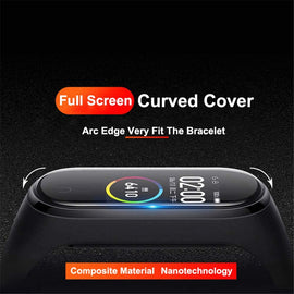 3D Screen Protector for xiaomi mi band 4 5 Protective Glass Miband 4 Full Curved Edge