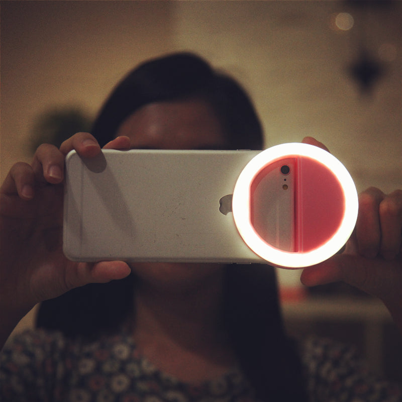 4 kind color Selfie Flash Light For Women Girl High Quality Phone Ring Enhancing Photography