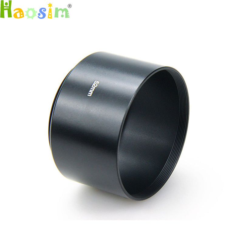 40.5 49 52 55 58 62 67 72 77mm long Metal LENS HOOD for canon nikon pentax sony olympus