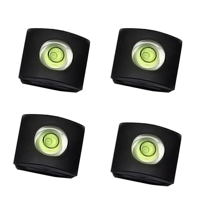 4Pcs/Set Camera Bubble Spirit Level Hot Shoe Protector Cover DSLR Cameras Accessories For Sony A6000