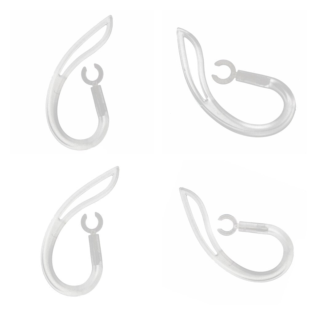 4pcs Clear Replacement bluetooth earphone Headset Earhooks