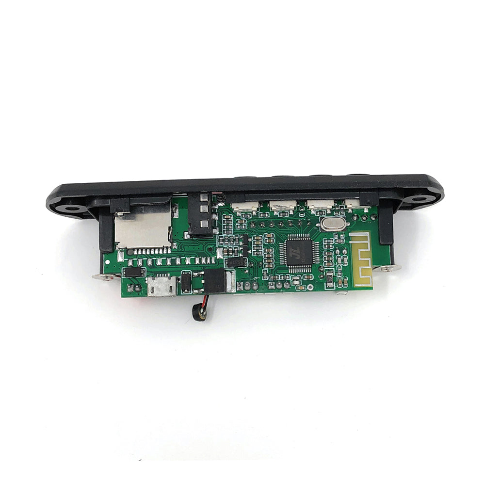 5V 12V Car Bluetooth 4.2 mic MP3 Decoder Board Decoding Player Module Support FM Radio USB / TF LCD