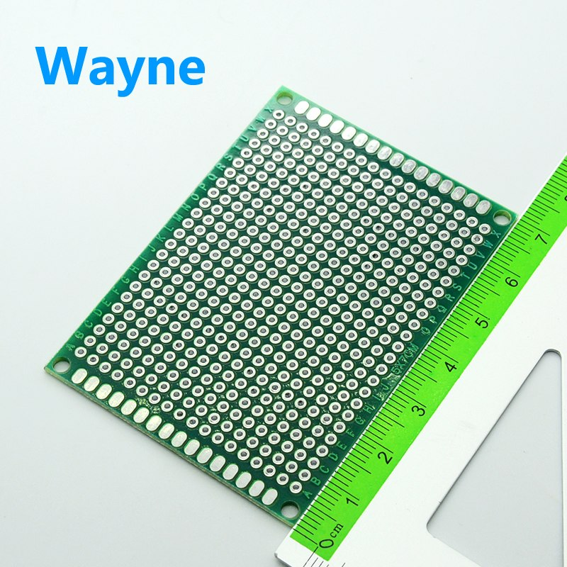 5pcs 5x7cm  PCB double sided tin plated universal plate breadboard experimental board development