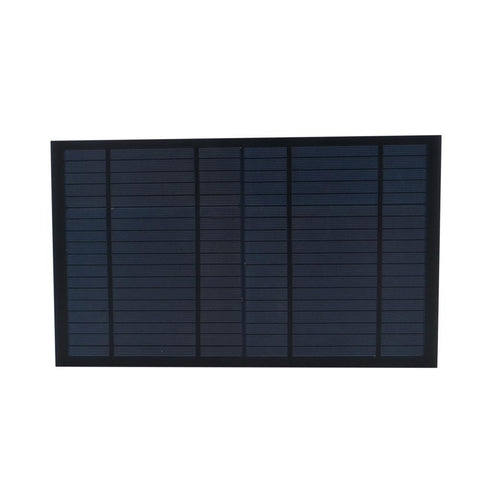 6/9/18V 10Watt 10W Solar Panel Standard PET polycrystalline Silicon charge 10W Battery Charge Module