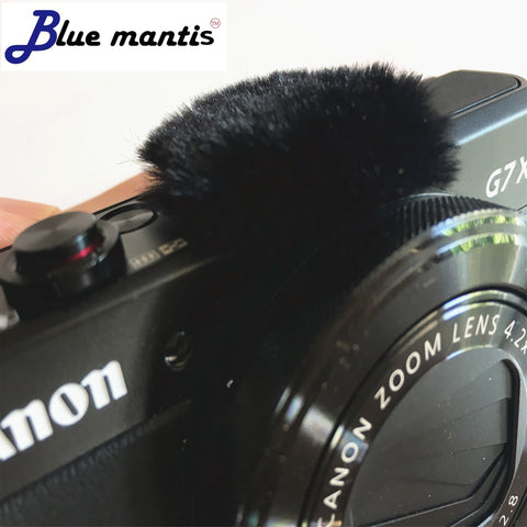 6Pcs Wind muffler dead cat for Canon G7x Mark II Micromuff for Microphone Cover for Canon G7X