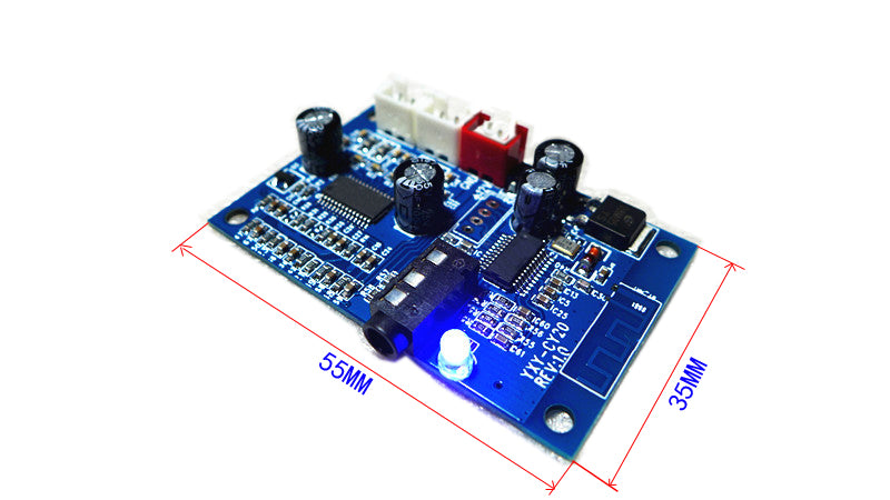 7.5V-16V Bluetooth audio decoder board with 15W * 2 amplifier with input Bluetooth 4.2