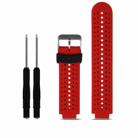 8 colors Silicone Replacement Watch Band for Garmin Forerunner 230 / 235 / 220 / 620 / 630 / 735