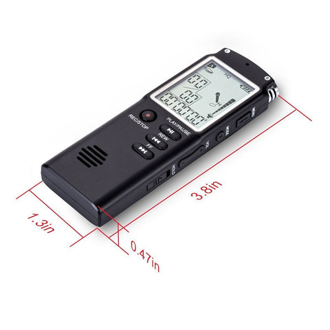 8GB/16GB/32GB Voice Recorder USB Professional 96 Hours Dictaphone Digital Audio Voice Recorder