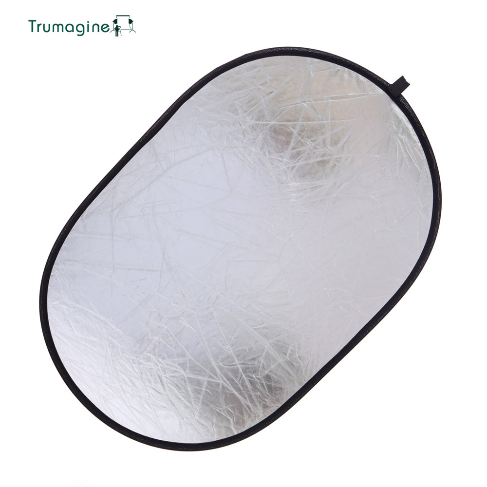 90*120CM 5 in 1 Portable Foldable Studio Photo Collapsible Multi-Disc Light Photographic Lighting