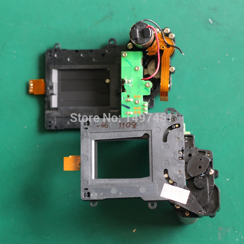 95%New Shutter group with Blade Curtain assembly repair parts For Nikon D7100 SLR (Separate from the