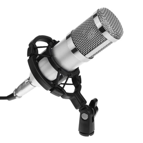 ALLOYSEED Wired Professional BM 800 bm800 Condenser Sound Recording Microphone with Shock Mount