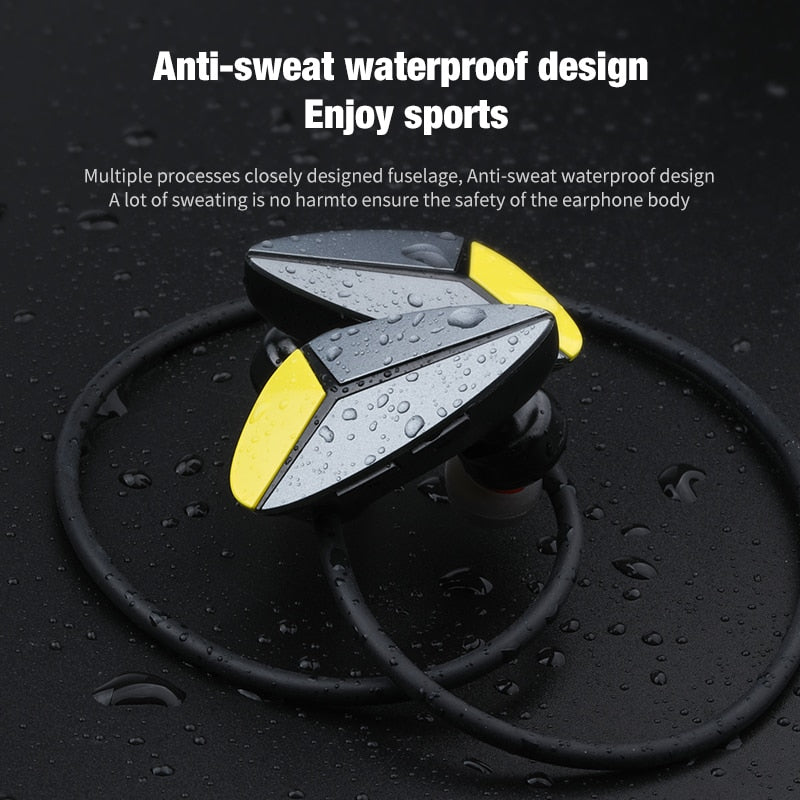 AWEI A887BL Bluetooth Headphone Waterproof CSR V4.1 Wireless Earphone Stereo HiFi Sound Sports