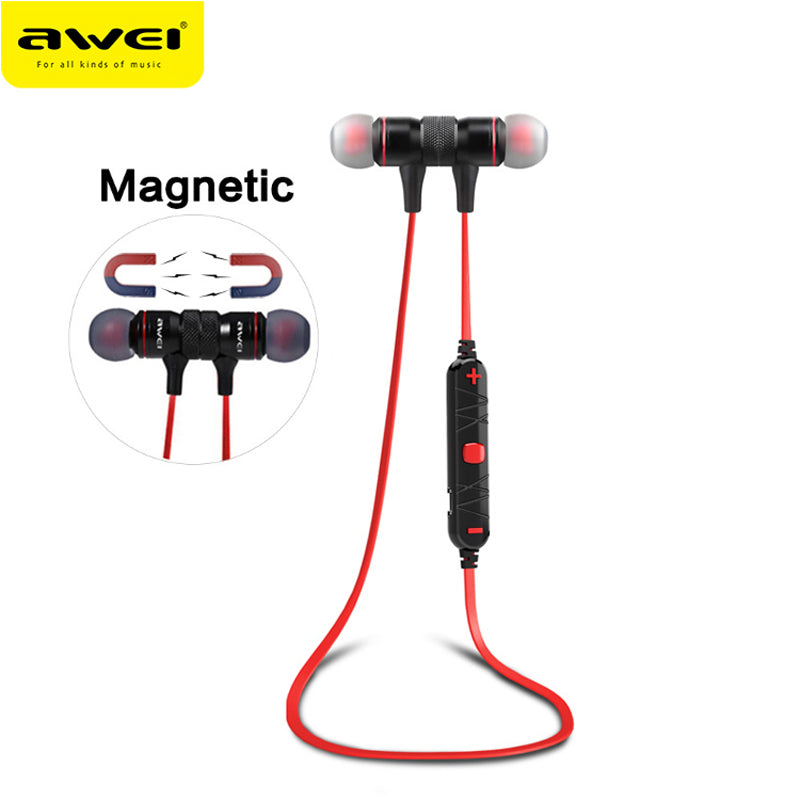 AWEI A920BL Wireless Headphone Bluetooth Earphone With Mic In-ear Sports Music Earbuds Bluetooth 4.1