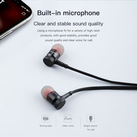 AWEI G10BL Wireless Headphone Bluetooth Earphone With Mic In-ear Sports Music Earbuds For iPhone