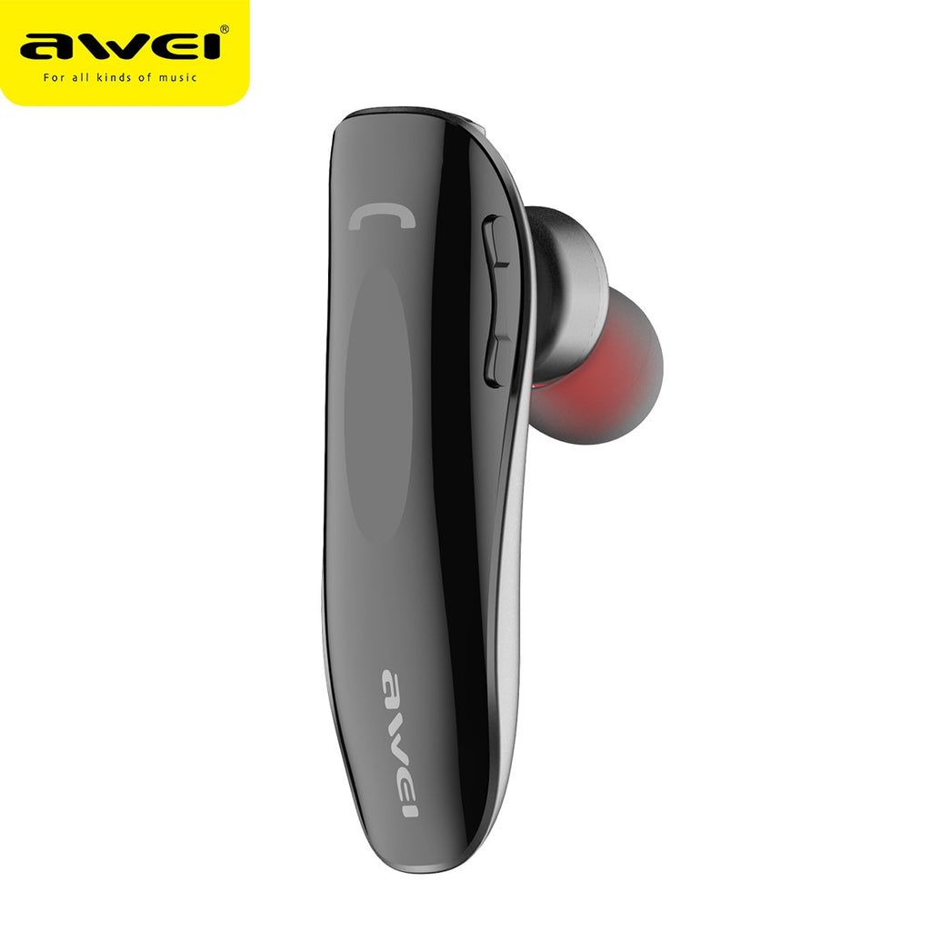 AWEI N1 Bluetooth Earphone Wireless Headphones cordless Mini Business Portable Headset for phone
