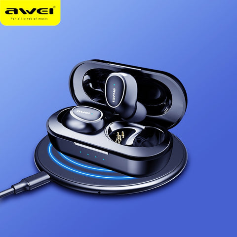 AWEI T6C Mini TWS In Ear Wireless Bluetooth Earbuds Waterproof