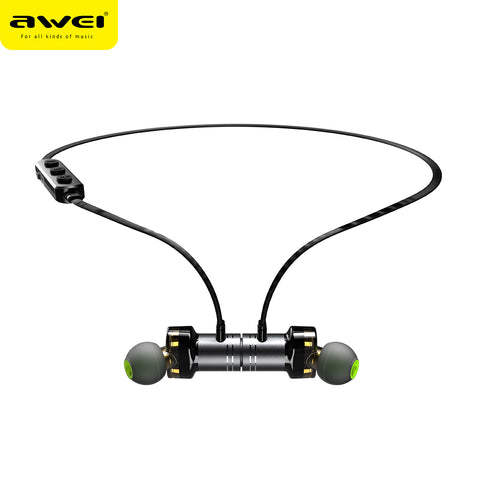 AWEI X670BL Wireless Headphones Bluetooth headset Neckband Earpiece Casque Earphones for phones