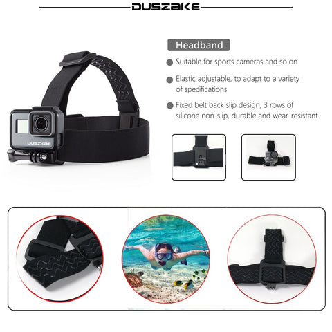Accessories Set For Gopro Hero 6 5 Chest Mount For Go pro Hero 5 Float Grid For Xiaomi Yi 4K SJCAM