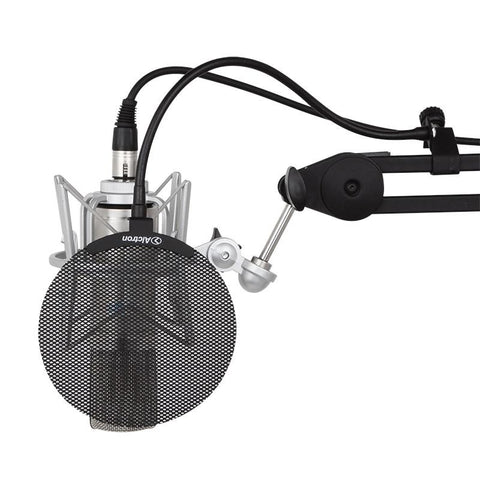 Alctron MA019B New metal screen mini pop filter for Microphones