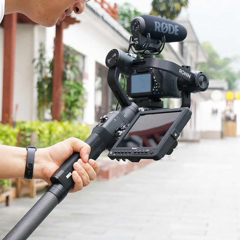 Aluminum alloy Extend Rod Pole Stick for Dji Ronin S Osmo Vimble 2 Crane Smooth 4 Feiyu G6 G5 AK4000