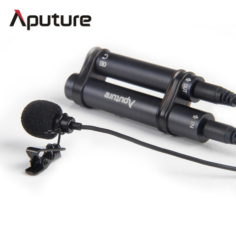 Aputure A.lav professional omnidirectional lavalier microphone used with mobile, recorder other equipment