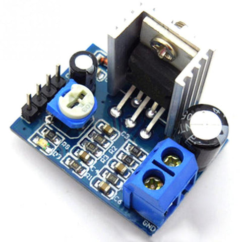 Audio Amplifier Module Professinal Audio Amplify Assmbly Parts Power Amplifier Board AMP 6 to 12V