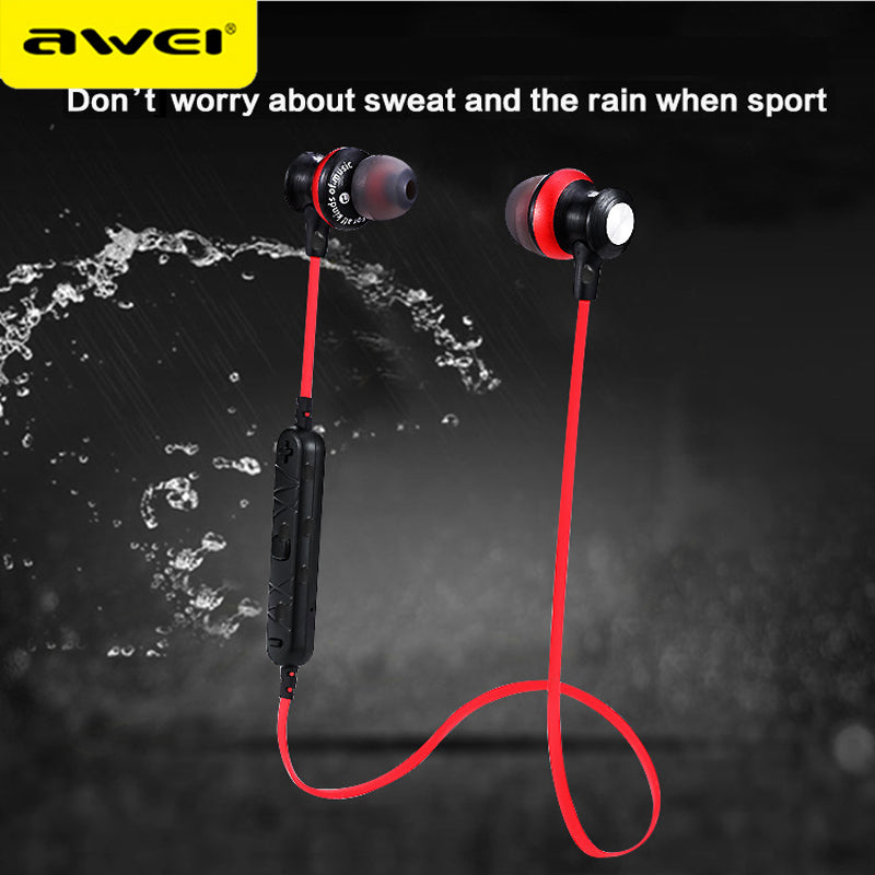 Awei A980BL Bluetooth Headphone Wireless Headset With Mic Sport Music Auriculares Stereo