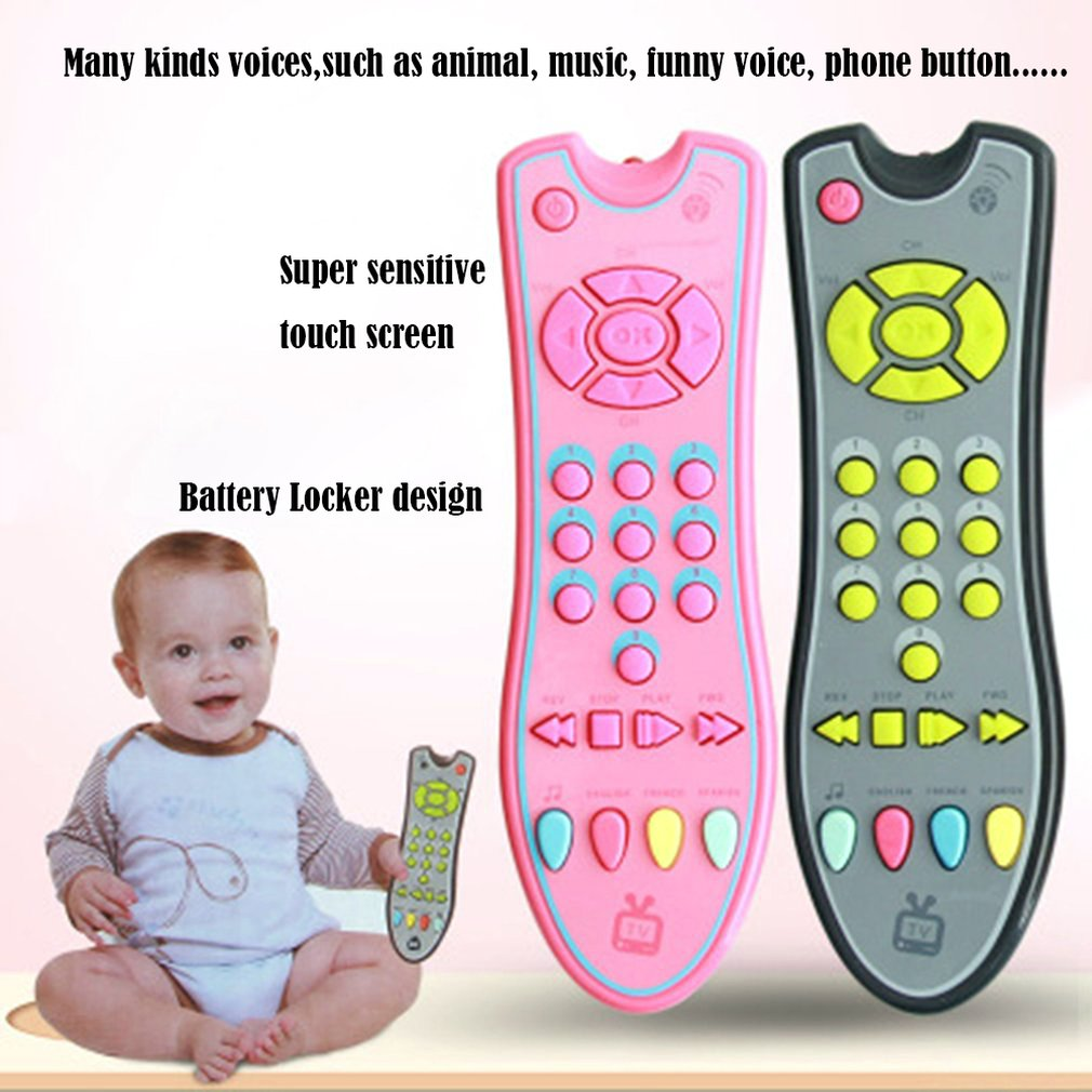 Baby Remote Control Toy Learning Light Remote for Baby Click Count Remote Toys for Boy Girl Baby