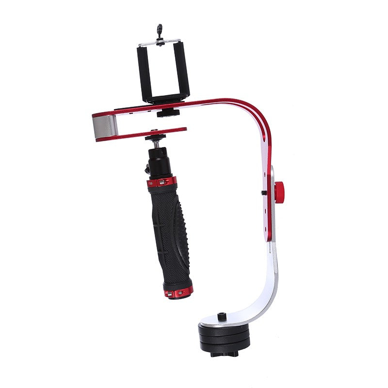 Black Red Handheld Video Stabilizer Camera Steadicam Stabilizer for Canon Nikon Sony Gopro Hero