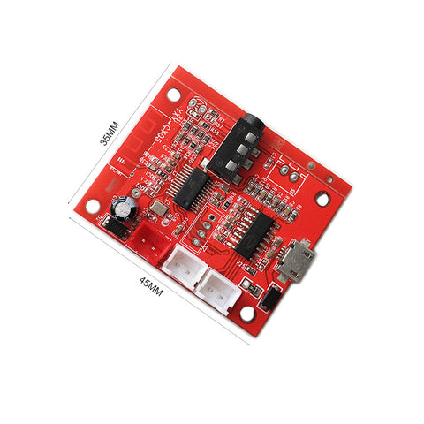 Bluetooth 4.2 Dual-channel Stereo High Digital Audio Power Amplifier Board 2*5W Micro USB li battery