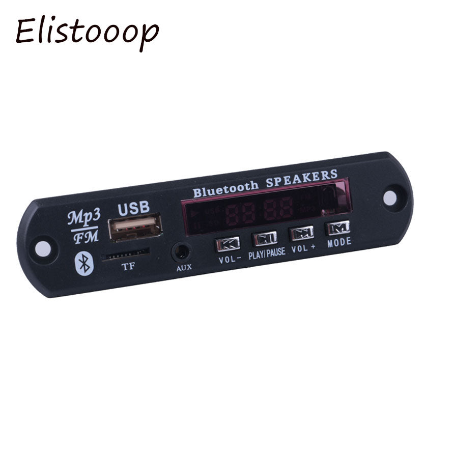 Bluetooth Audio Decoder Board Module MP3 Player LED Call APE FLAC MP3 WMA WAV decoder board FM AUX