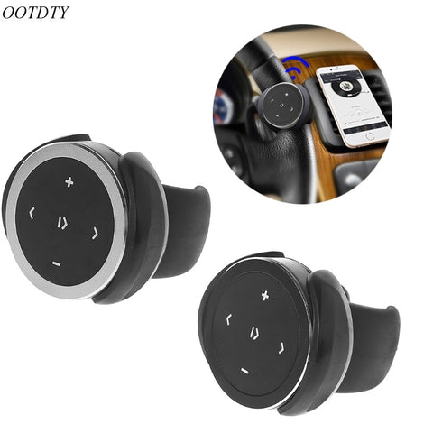 Car Wireless Bluetooth Media Steering Wheel Remote Control Mp3 Music Player Portable