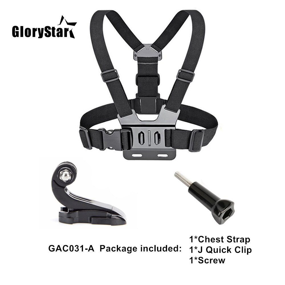 Chest Strap Mount Belt / Action Camera Chest Mount Harness