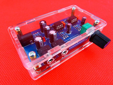 Classic 47 Headphone Amplifier Board amp circuit with housing