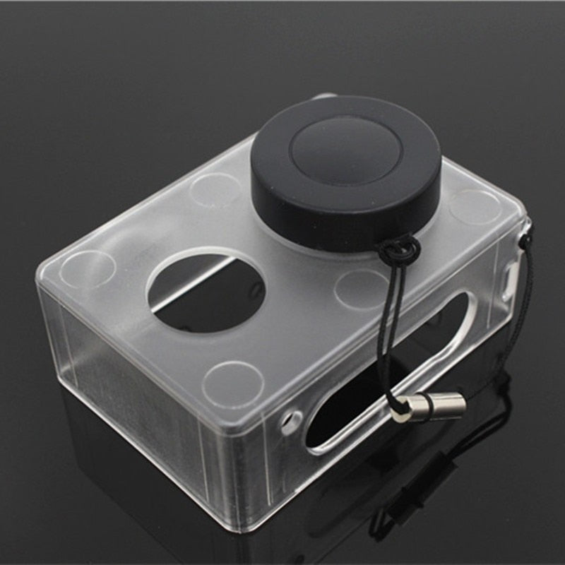 Crazy Sale Protective Case Skin For Xiaomi YI Action Camera Accesorios Transparent Protective