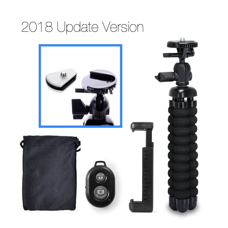 DUSZAKE Flexible Gorillapod Mini Tripod for Phone Tripod Stand Live Mini Phone Tripod for iPhone