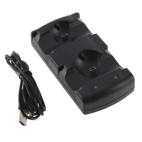 Dual Chargers USB Dual Charging Powered Dock Charger for PlayStation 3 for Sony for PS3 Controller