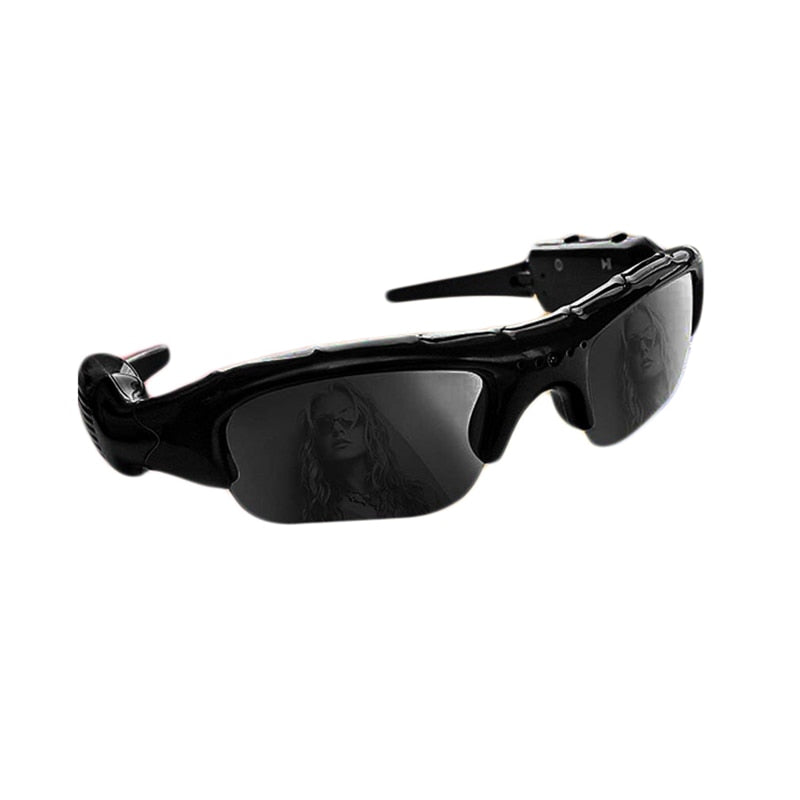 ET Wide Angle Sunglasses Camera Mini Eyewear DV DVR Video Recorder Outdoor Sports Camcorder