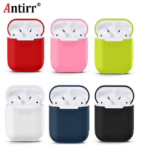 Earphone Case For Apple Airpods strap Soft Silicone headphone Case Earphone accessories Protective