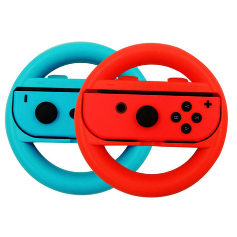 EastVita iplay 2 Pcs Racing Game Steering Wheel For Nintend Switch Remote Helm Game Wheels For